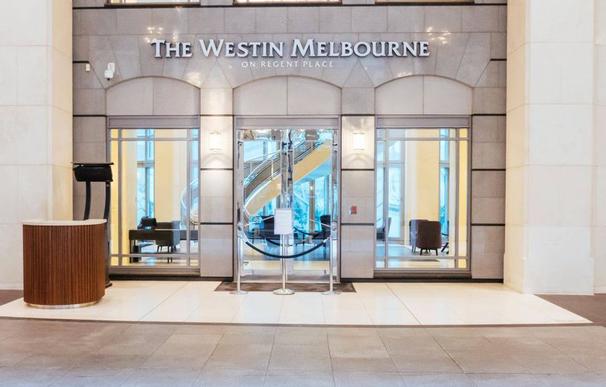 The Westin Melbourne, un hotel pe care organizatorii Australian Open vor să-l folosească exclusiv pentru a carantina sute de jucători, foto: Imago