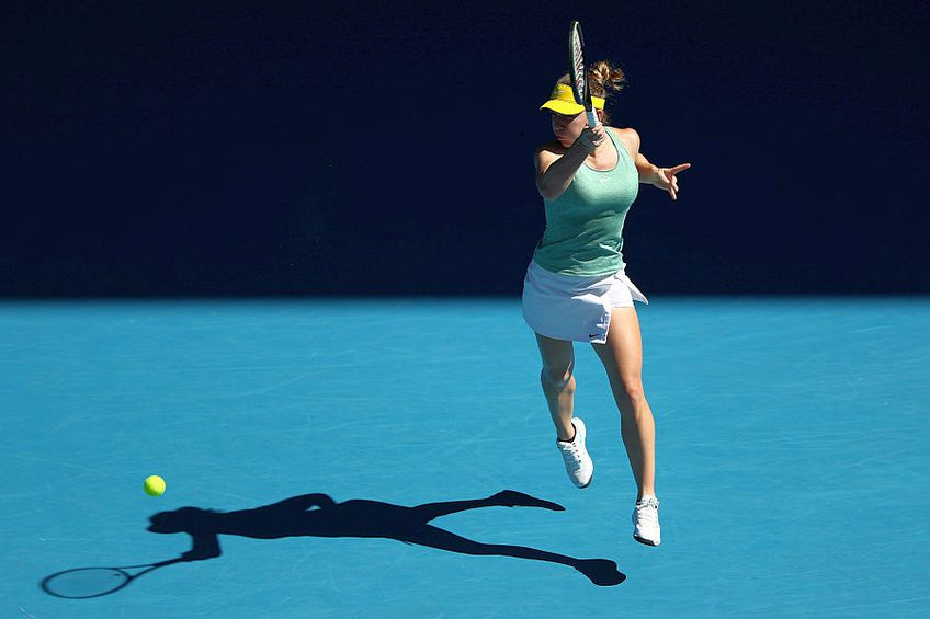 Simona Halep // foto:Guliver/GettyImages