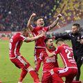 Bucuria lui Andrei Sin după golul marcat cu Dinamo FOTO Cristi Preda