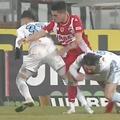 Ante Vukusic (29 de ani, atacant) a ieșit rapid în evidență, la doar două minute după ce a debutat pentru FCSB, chiar în derby-ul cu Dinamo.