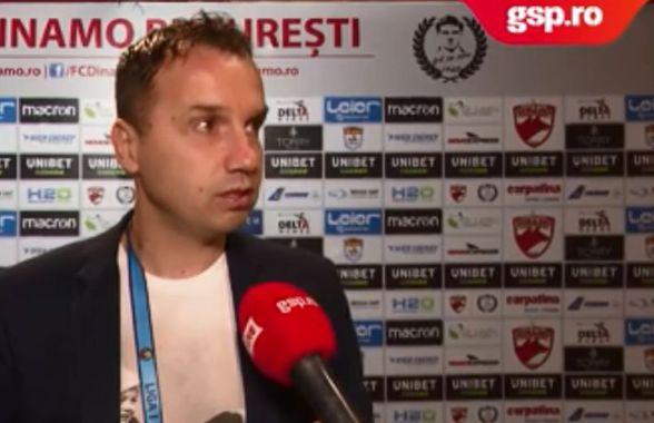 """VIDEO EXCLUSIV // Sorin Paraschiv crede că Dinamo poate retrograda: """"Totul este posibil"""""""
