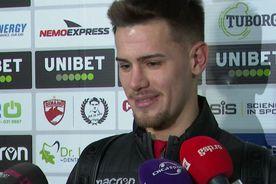 """Ricardo Grigore râde de rivali: """"Aș prefera să joc 10 meciuri contra celor de la FCSB!"""""""