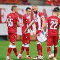 Mijlocașul Janusz Gol (35 de ani) a plecat în Polonia pentru a-și rezolva probleme medicale. Dinamo nu se va baza pe serviciile lui în perioada următoare.