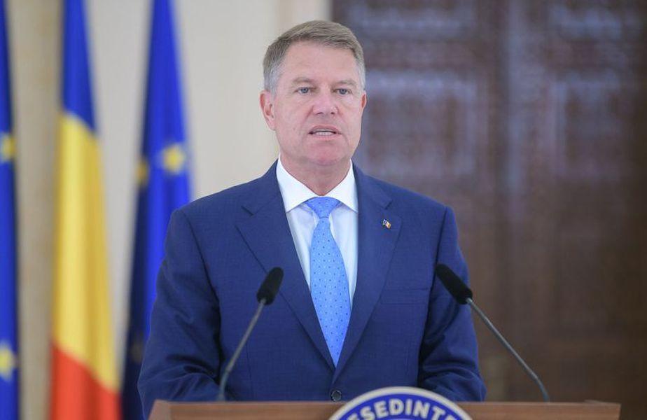 Klaus Iohannis este președintele României din 2014