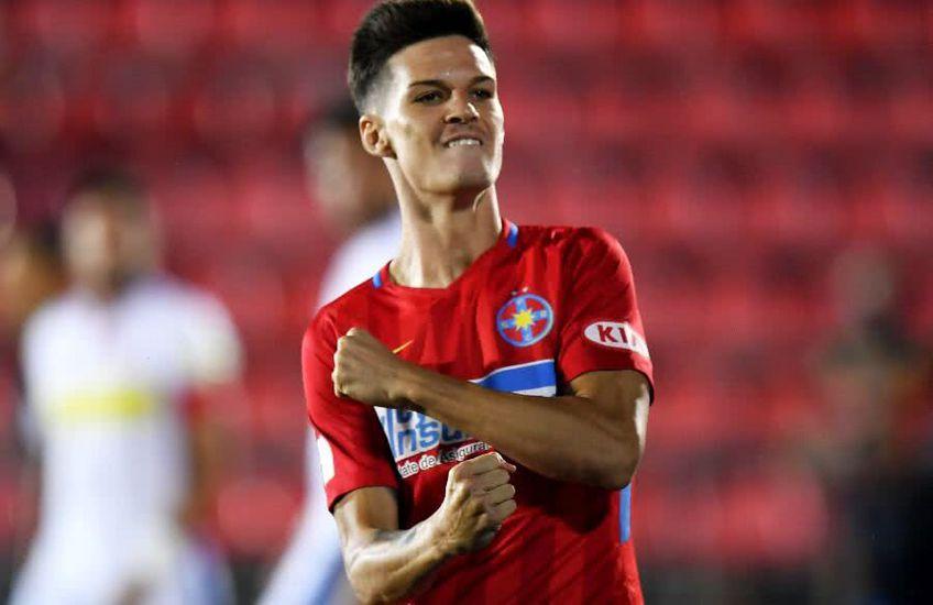 7 goluri în 24 de partide a reușit Man pentru FCSB în acest sezon