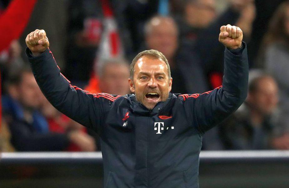 Hansi Flick și-a prelungit contractul cu Bayern Munchen. foto: Guliver/Getty Images
