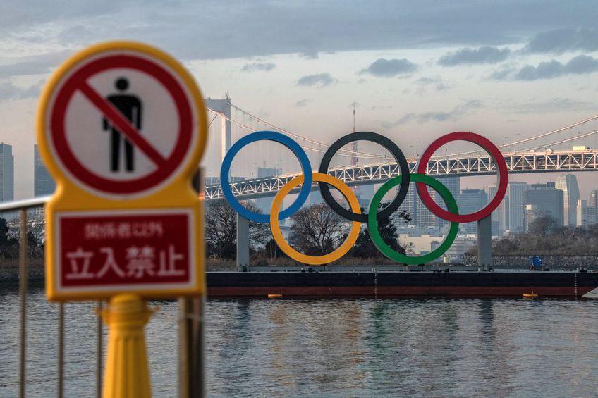 Imagine din Tokyo a cercurilor olimpice // foto: Guliver/gettyimages