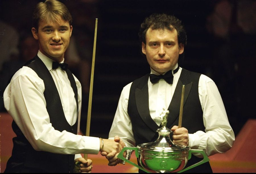 Stephen Hendry si Jimmy White, CM snooker 1994, foto: Guliver/gettyimages