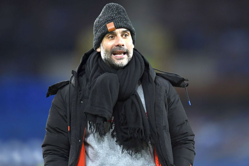 Pep Guardiola, antrenor Manchester City // foto: Guliver/gettyimages