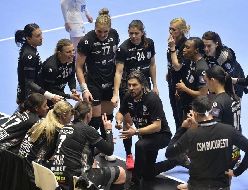 CSM București a câștigat manșa tur a sfertului de finală cu ȚSKA Moscova, scor 32-27, dar antrenorul Adi Vasile (38 de ani) înseamnă la cumpătare.