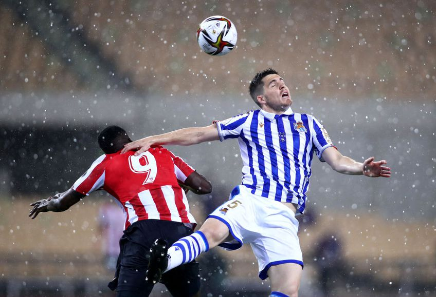 Athletic Bilbao și Real Sociedad se înfruntă în finala Cupei RegeluI Spaniei, astăzi, de la ora 22:30.