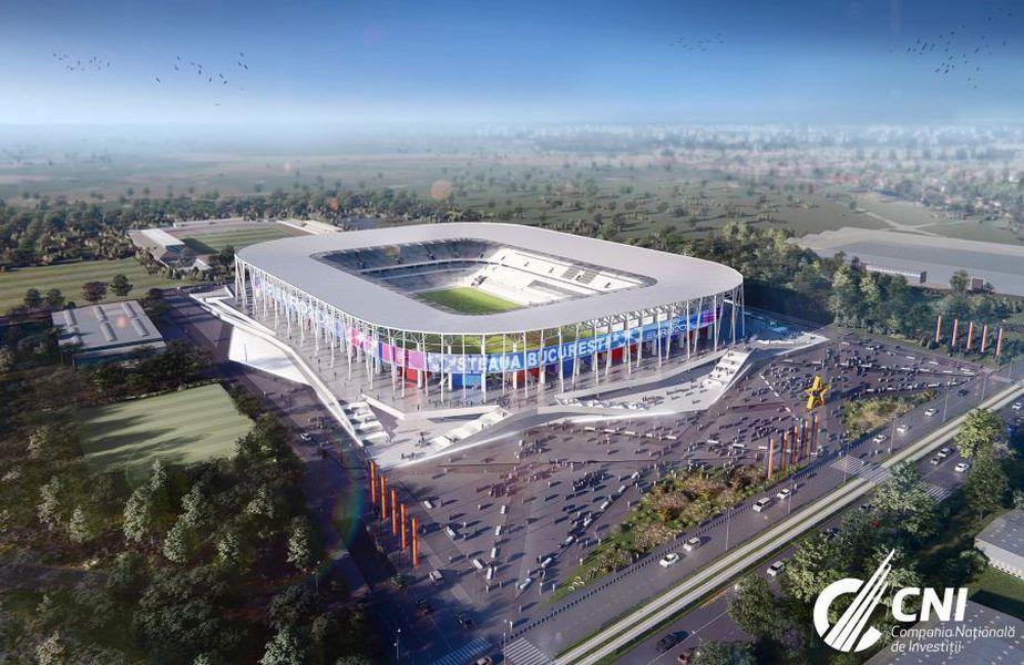 Stadionul Ghencea va putea fi închiriat de oricine, spune MTS // sursă foto: Facebook @ CNI
