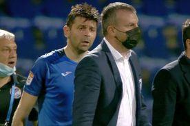 """Spirite încinse după Clinceni - Craiova » Raul Rusescu, calmat cu greu: """"Ce te bagi așa, mă?"""""""