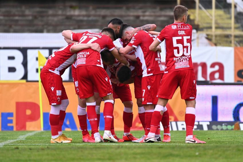 Dinamo ocupă locul 8 în play-out