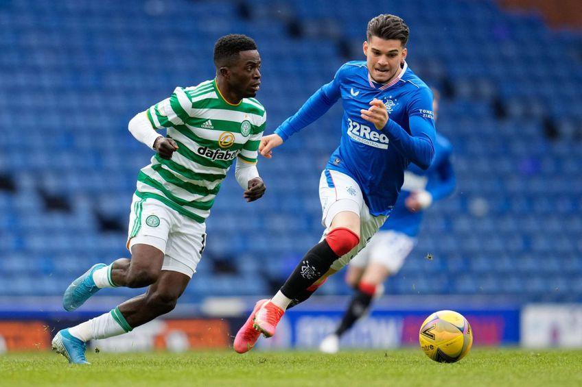 Ianis Hagi, în Rangers - Celtic 4-1 // foto: Imago