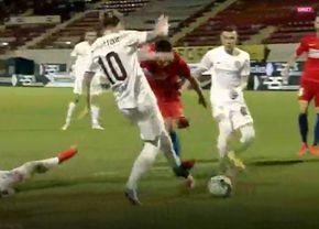 Penalty neacordat în FCSB - CFR Cluj! Verdictul categoric al lui Crăciunescu + reacția lui Deac