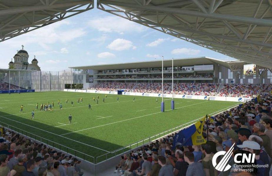 """Așa va arăta stadionul """"Arcul de Triumf"""" // sursă foto: Facebook @ CNI"""