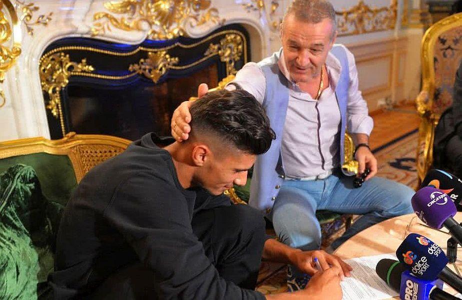 Florinel Coman e fotbalistul cu care Gigi Becali vrea să dea lovitura