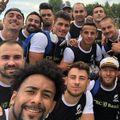 Mihai Lazăr alături de echipa națională // sursă foto: Facebook @ romanian rugby federation