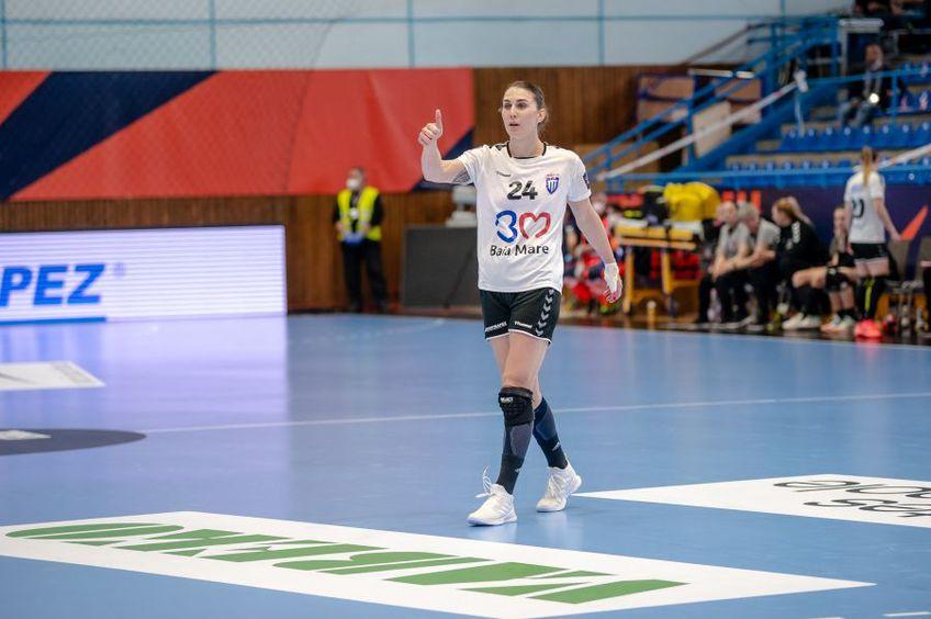 Jovana Kovacevici (25 de ani), jucătoarea de la Minaur FOTO Dan Potor