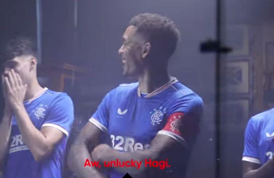 Ianis Hagi întrerupe ședința foto a lui Rangers
