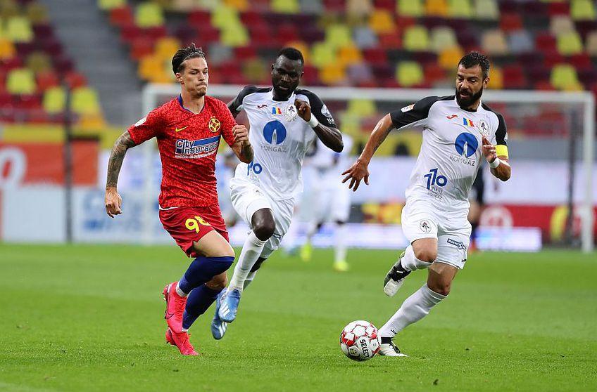 Man e golgeterul FCSB-ului în play-off, cu 3 reușite (foto: Ștefan Constantin)