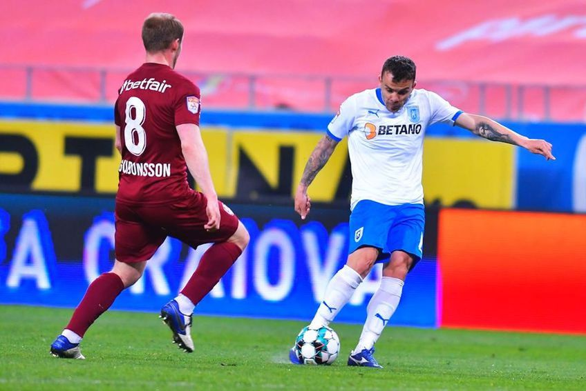CFR Cluj și Universitatea Craiova se vor înfrunta în Supercupa României 2021