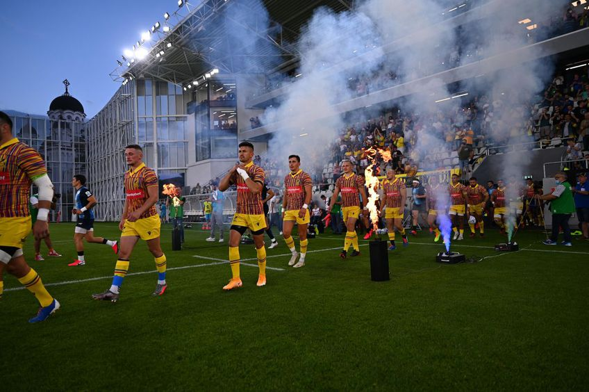 """Arena """"Arcul de Triumf"""" a fost inaugurată sâmbătă seară, cu meciul de rugby dintre România și Argentina."""