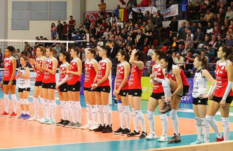 Volei Alba Blaj juca meciurile în Liga Campionilor, la Sibiu FOTO