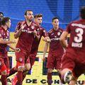 CFR Cluj câștigă pentru al treilea an la rând campionatul, după victoria cu 3-1 pe terenul Craiovei, și va reprezenta din nou România în preliminariile Ligii Campionilor.