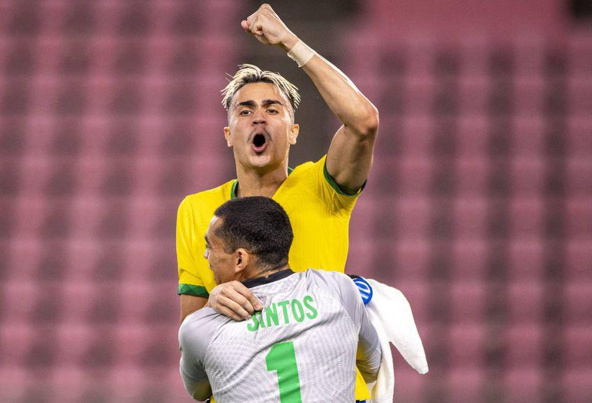 Naționala U23 a Braziliei a învins astăzi Mexicul în semifinale, 0-0, 4-1 la penalty-uri, foto: Imago