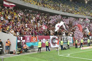 """În număr mare în Trivale! Câți rapidiști vor asista la meciul cu FC Argeș: """"Ne vom simți ca acasă"""""""