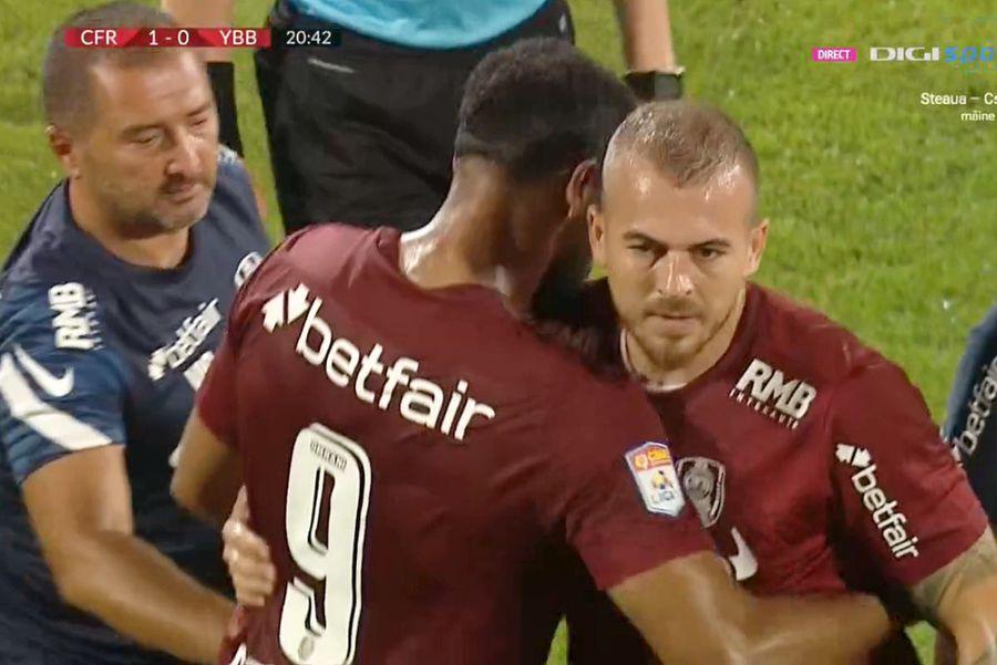 Probleme pentru CFR Cluj » Denis Alibec, transferul-vedetă, s-a accidentat