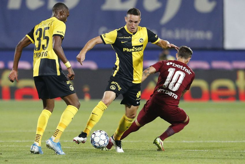 CFR Cluj - Young Boys Berna 1-1