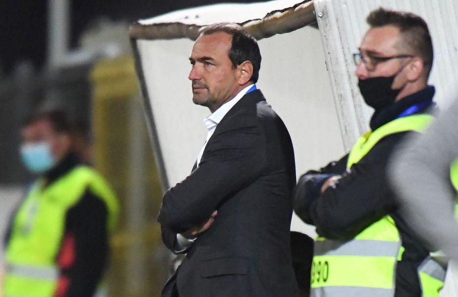 Ionuț Badea, 44 de ani, antrenorul lui FC Argeș, a dat vina pe arbitraj după încă o înfrângere în Liga 1, 0-1 cu Sepsi Sf. Gheorghe.