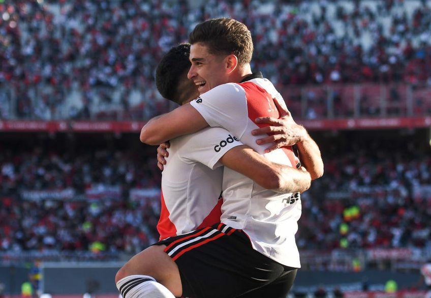 River Plate a sărbătorit primul Superclasico în pandemie cu fani în tribună, în etapa #14 din prima ligă, 2-1 cu Boca.