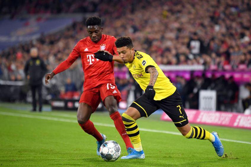 Davies și Sancho conduc în topul celor mai scumpi tineri jucători // Foto: Getty Images