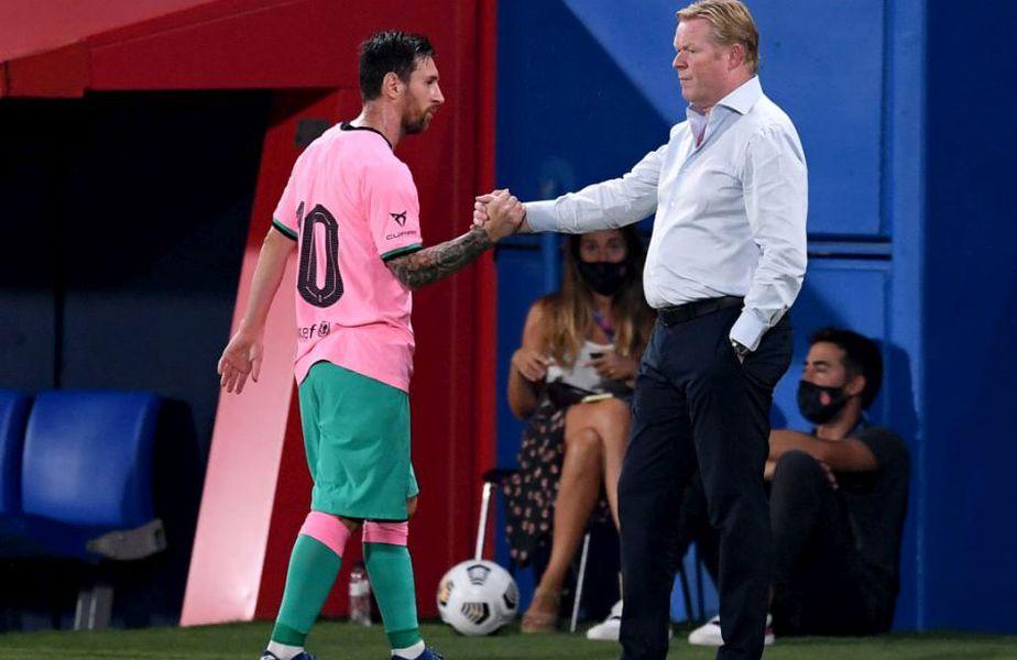 Barcelona - Dinamo Kiev. Ronald Koeman, antrenorul catalanilor, este îngrijorat înaintea duelului cu echipa lui Mircea Lucescu din Liga Campionilor.