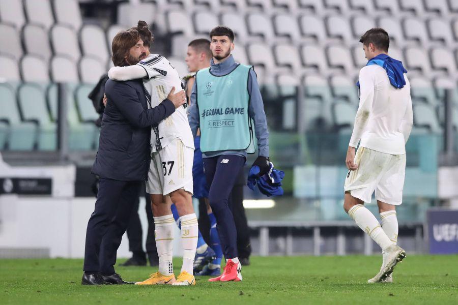 Radu Drăgușin debut Juventus // Juventus - Dinamo Kiev 3-0