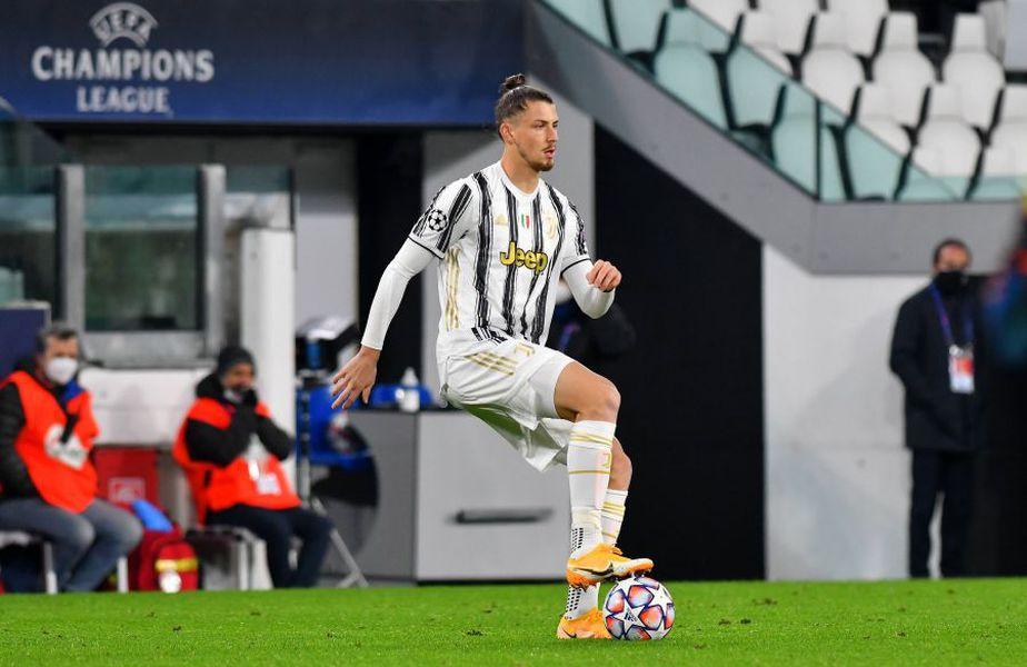 Radu Drăgușin, în Juventus - Dinamo Kiev // foto: Imago