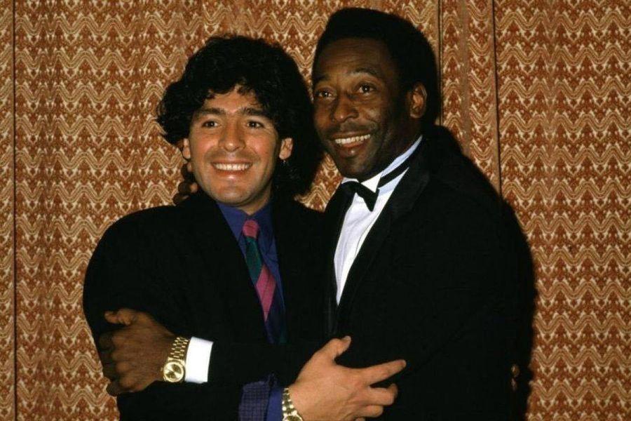 Diego Maradona și Pele