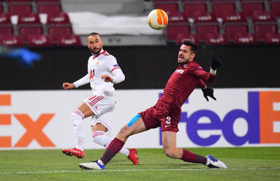 CFR Cluj - ȚSKA Sofia 0-0