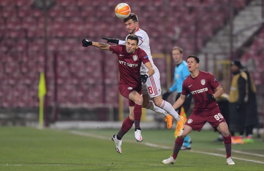 CFR Cluj a remizat cu ȚSKA Sofia, scor 0-0