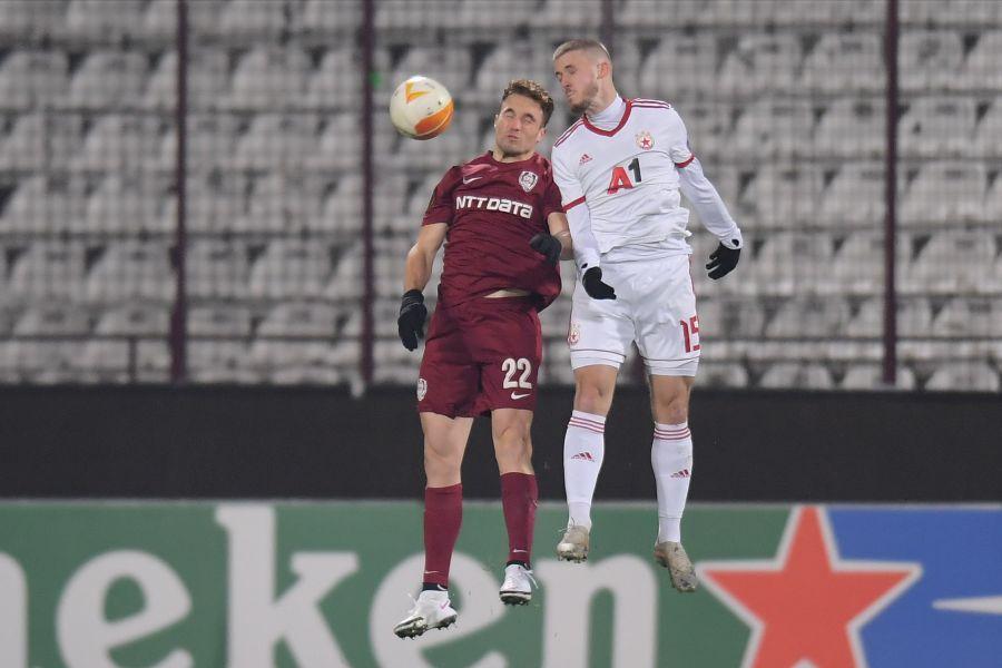 CFR Cluj - ȚSKA Sofia, grupele Europa League / FOTO: Raed Krishan
