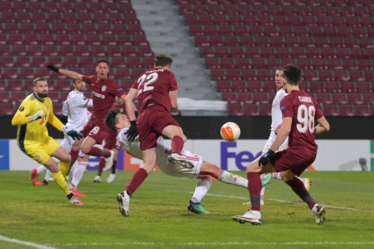 CFR CLUJ - ȚSKA SOFIA 0-0. Note GSP » Cum s-au descurcat jucătorii campioanei în primul meci din era post-Petrescu