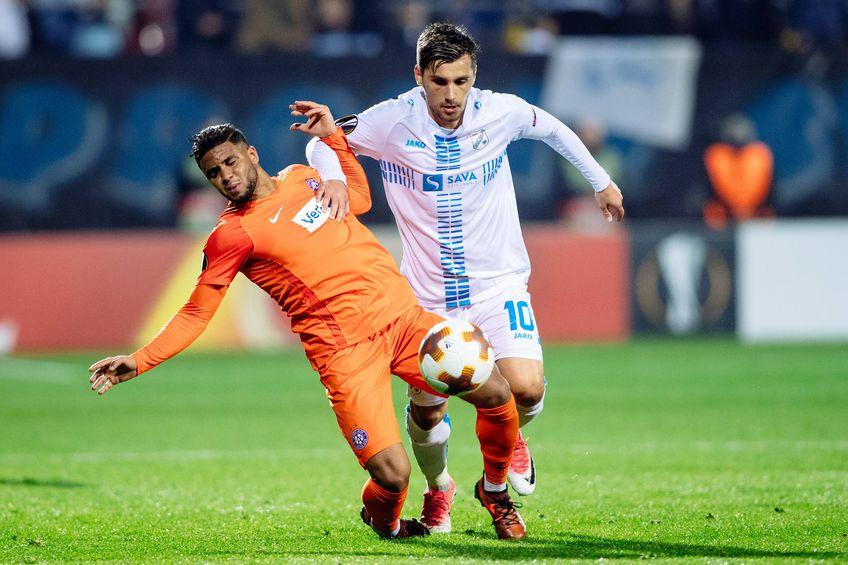 Florentin Matei (27 de ani) a marcat un gol pentru Apollon Limassol. Sursa foto: Imago