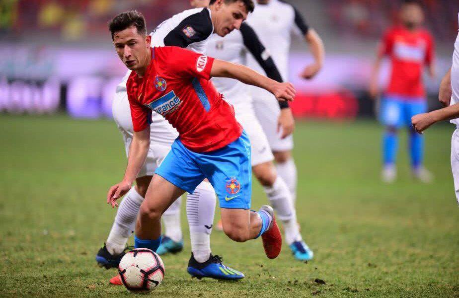 FCSB are pe masă o ofertă de 10,5 milioane de euro pentru Olimpiu Moruțan (21 de ani), de la Al Jazira, din Emiratele Arabe Unite. Bogdan Mara, directorul sportiv al Astrei, nu crede în această mutare.