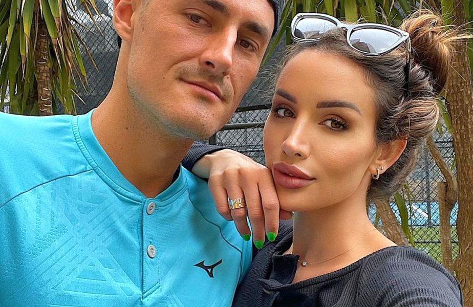 Bernard Tomic și iubita lui; Vanessa Sierra // Foto: Instagram