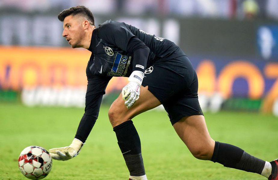 Cristi Bălgrădean, noul portar de la CFR Cluj