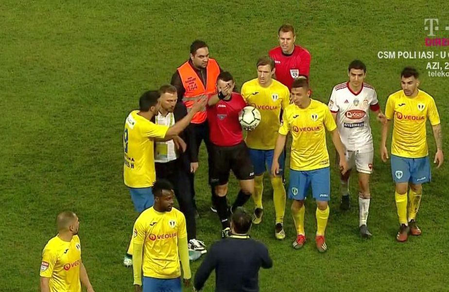 FOTO: Captură @TV Telekom Sport
